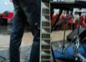 kit guitarrista completo - guitarra ibanez, simulador (pedaleira) e foot.