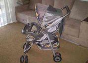 Lindo carrinho de bebê burigotto - seminovo