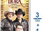 Box trio parada dura - nossa estrada - 3 cd's + 1 dvd