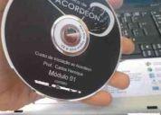 Dvd curso acordeon prof. carlos henrique (mód. 01)
