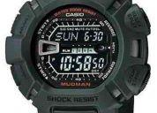 Relógio casio g-shock g-9000 mudman 5 alarmes 2 cronô 200m v