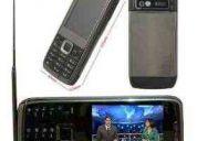 Celular mp10 e71 tv 2'chips desbloqueado câmera fm