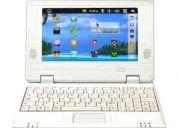 Netbook eyo droid 7 branco com wi-fi e android 2.2