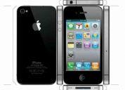 Apple iphone 4g 32gb desbloqueado chip gevey black em até 12x paypal e mp