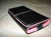 Capa couro tipo book iphone 4g presente de natal
