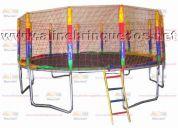 Cama elastica  de 4,30 toda colorida
