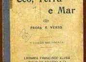 Livro - ceo, terra e mar - prosa e verso - alberto de oliveira
