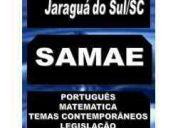 Apostila digital concurso prefeitura de jaragua do sul sc samae