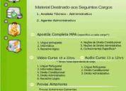 Apostila concurso mpa 2010 ministério pesca agricultura prova edital analista agente