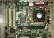 Compro kit, placa mÃe, processador, de pentium 1, 2, 3, celeron, k6