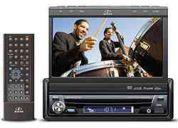 Dvd player automotivo hbd 9550 c/ tela de lcd 7 touch screen retrátil
