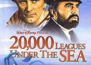 20.000 leguas submarinas 1954 disney - dublado e legendado - raro ! dvd r$ 10,00