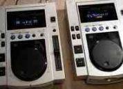 Cdj pioneer 100s (par) equipamento para dj's