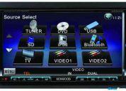 Dvd kenwood ddx8034bt completo + frete grátis!