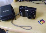 Câmera digital samsung s630 + cartão 256mb + cambag