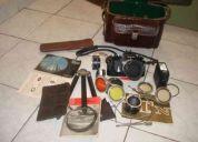 Máquina fotografica nikkon analógica