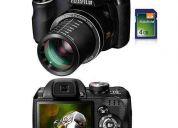 Câmera digital finepix s3300 (14mp) c/ 26x zoom + frete grátis