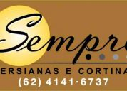 (62) 4141-6737 / 8131-3747 persiana & cortina  - goiania
