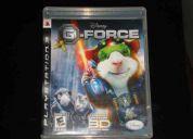 G force 3d - ps3 - r$ 70,00 reais + 2 oculos 3d incluso