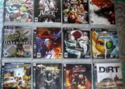 Pacote com 12 jogos de playstation 3