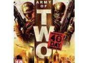 Army of two 40th - jogo original para xbox 360