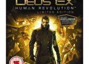 Deus ex: human revolution limited edition ps3 - frete gratis