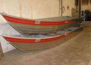 Barco de alumínio de 6 mts zero, borda alta.