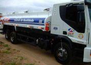 Iveco 240e25 truck tanque de 15.000 litros (trabalhando)