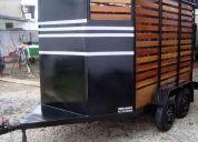 carretinha para tranporte de animais-carretinha para dois cavalos-fabrica de carretinhas