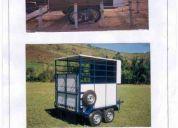 A carretinha para 02 cavalos 0km direto da fÁbrica