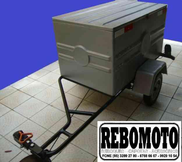 REBOQUE MOTOLEV = REBOQUES COM FREIO P/ MOTOS