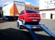 Carreta para transporte de automoveis e motos