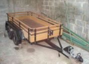Carreta fazendinha - para 1.500 kgs.