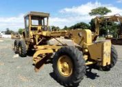 Tratores e maquinas - motoniveladora, caterpillar, 120b