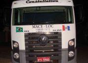 Alugo caminhão munck e container