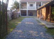 Casa de frente para praia