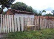 Terreno com pequena casa=vendo ou troco por carro -r$ 9.000,00