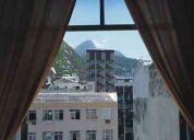 Apartamento em copacabana com vista belíssima para o cristo!!!