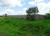 Excelente terreno com 5.000 mts todo murado prox. fórum de luziânia