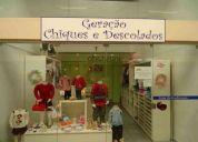 Vendo loja infantil no shopping esplanada