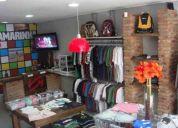 Vendo loja toda montada - equipamentos/mobiliÁrio e estoque