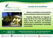 Locação de consultórios médicos mobiliados