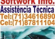 ManutenÇÃo de computadores em domicilio 71- 34616890 - 71 - 87811104