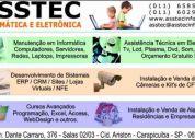 Assistência técnica e eletrônica