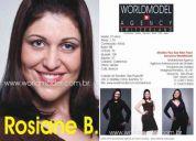 Agencia de modelo worldmodel - modelo plus size rosiane bezerra