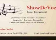 Showdevoz - cantor internacional