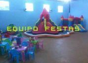 Equipo festas - som, iluminaÇÃo e brinquedos em geral