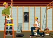 Reformas em geral, construcao, pintura