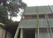 Limpeza telhados, toldos e fachadas