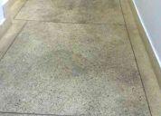 Limpeza pós obra e construção e tratamento de piso em geral      d.b